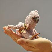 """Мишки Тедди ручной работы. Ярмарка Мастеров - ручная работа Кукла """"Птенец розового какаду"""". Handmade."""