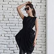Одежда handmade. Livemaster - original item Black Extravagant Shirt. Handmade.