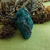 Фен-шуй и эзотерика handmade. Livemaster - original item Amulet with dioptase. Handmade.