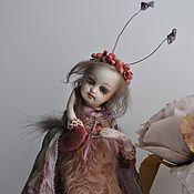 Куклы и игрушки ручной работы. Ярмарка Мастеров - ручная работа Тедди-долл Мотылёк.. Handmade.