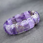 Украшения handmade. Livemaster - original item Bracelet made of natural amethyst. Handmade.