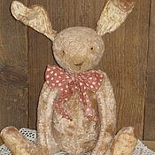 Тедди Зверята ручной работы. Ярмарка Мастеров - ручная работа Заяц тедди ..... Handmade.