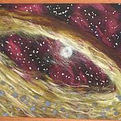 Картины ручной работы. Ярмарка Мастеров - ручная работа Картина из шерсти Космос как предчувствие. Handmade.
