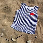 Одежда ручной работы. Ярмарка Мастеров - ручная работа Лето-море-облака. Handmade.