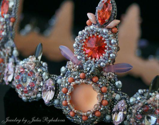 корона ручной работы, диадема ручной работы, эксклюзивный подарок, подарок девушке женщине, роскошная корона