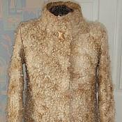 Одежда handmade. Livemaster - original item Wool coat Caramel. Handmade.
