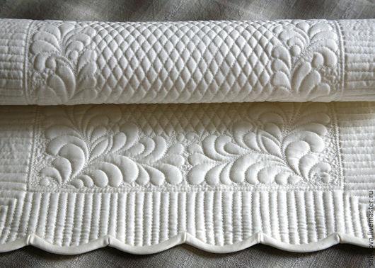 Текстиль, ковры ручной работы. Ярмарка Мастеров - ручная работа. Купить Салфетка.. Handmade. Белый, квилтинг, для спальни