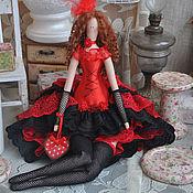 """Куклы и игрушки ручной работы. Ярмарка Мастеров - ручная работа Кукла в стиле Тильда """"Ах, кабаре, кабаре, кабаре!"""". Handmade."""