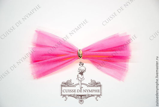 Шитье ручной работы. Ярмарка Мастеров - ручная работа. Купить Фатин неоновый розовый (pink neon), KRST-1076. Handmade.