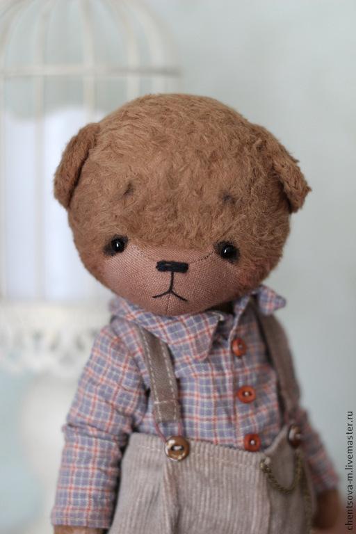 Мишки Тедди ручной работы. Ярмарка Мастеров - ручная работа. Купить Миша... Handmade. Мишка, ручная авторская работа, опилки