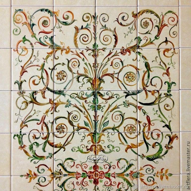 Tiles on fireplace ' Renaissance', Fireplaces, Kazan,  Фото №1