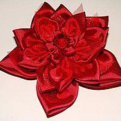 Украшения ручной работы. Ярмарка Мастеров - ручная работа Красные цветы. Handmade.