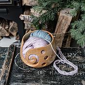 Материалы для творчества handmade. Livemaster - original item Wooden glomerulus made of Siberian cedar wood KL13. Handmade.
