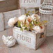"""Для дома и интерьера ручной работы. Ярмарка Мастеров - ручная работа Ящик для цветов """"FIORI"""". Handmade."""