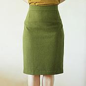 Одежда ручной работы. Ярмарка Мастеров - ручная работа Юбка женская классическая. Handmade.