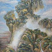 Картины и панно ручной работы. Ярмарка Мастеров - ручная работа Китайская фантазия. Handmade.