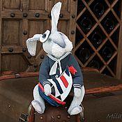 """Мягкие игрушки ручной работы. Ярмарка Мастеров - ручная работа Друзья Тедди. Авторская работа. """"Морячок"""". Handmade."""