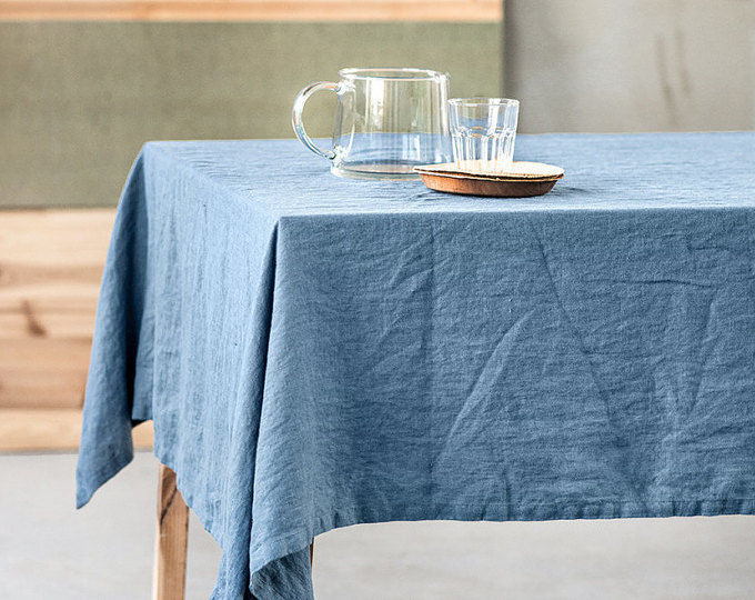 Linen tablecloth from a soft linen - Table linen of flax, Tablecloths, Moscow,  Фото №1
