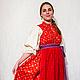 """Одежда ручной работы. Ярмарка Мастеров - ручная работа. Купить Костюм с сарафаном  """"на лифе или полуплатье"""" - костюм истории. Handmade."""