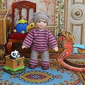 Куклы и игрушки ручной работы. Ярмарка Мастеров - ручная работа Кукла миниатюрная 7см.. Handmade.