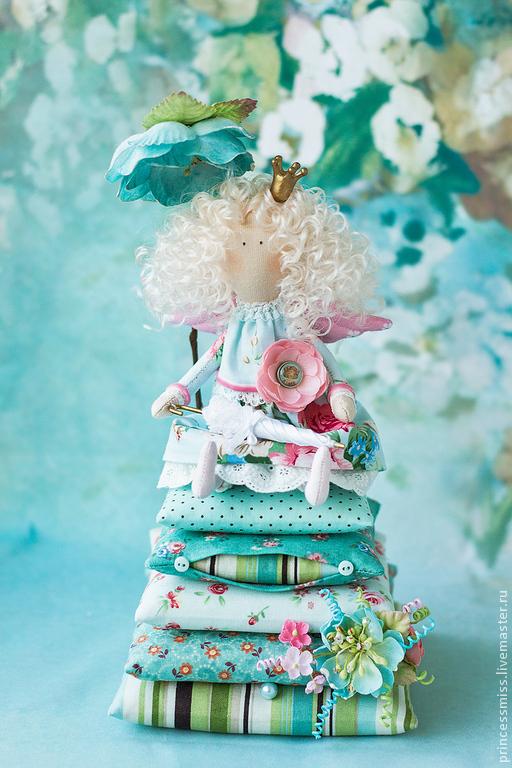 """Куклы Тильды ручной работы. Ярмарка Мастеров - ручная работа. Купить Принцесса """"Лили"""". Handmade. Тильда, подарок, цветы"""