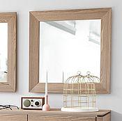 Для дома и интерьера ручной работы. Ярмарка Мастеров - ручная работа зеркало в деревянной раме. Handmade.