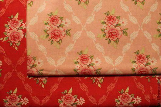 Шитье ручной работы. Ярмарка Мастеров - ручная работа. Купить Тильда ткани. Handmade. Ярко-красный, Тильда ткань