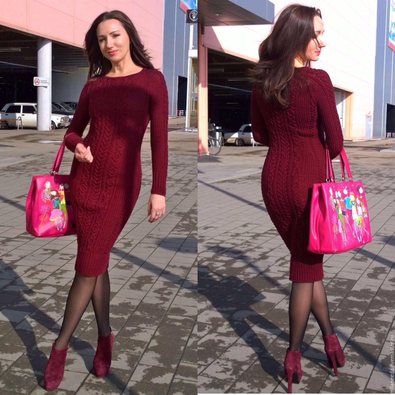 Платья цвета бордо купить в