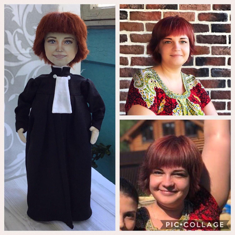 Куколка по фото с условно-портретным сходством, Портретная кукла, Москва,  Фото №1