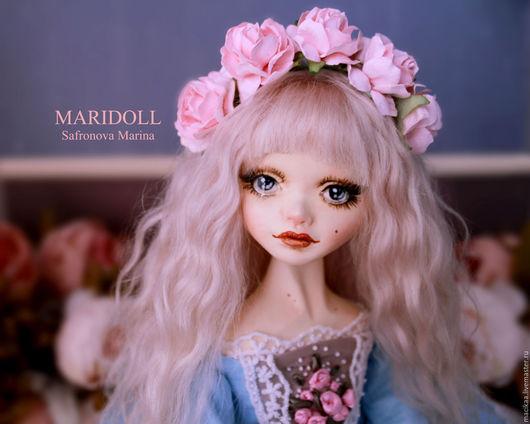 Коллекционные куклы ручной работы. Ярмарка Мастеров - ручная работа. Купить Мария - Антуанетта интерьерная  подвижная кукла. Handmade.