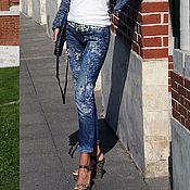 Одежда handmade. Livemaster - original item Jeans