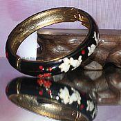Винтажные браслеты ручной работы. Ярмарка Мастеров - ручная работа Браслет клуазоне. Handmade.