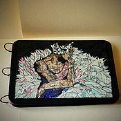 "Канцелярские товары handmade. Livemaster - original item Sketchpad ""Ballerina-2"". Handmade."