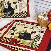 """Для дома и интерьера ручной работы. Ярмарка Мастеров - ручная работа Ланчмат  """"Chicken"""". Handmade."""