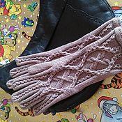 """Аксессуары ручной работы. Ярмарка Мастеров - ручная работа Вязаные перчатки """"Колдунья II"""". Handmade."""