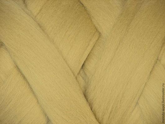 Валяние ручной работы. Ярмарка Мастеров - ручная работа. Купить Шерсть для валяния меринос 18 микрон цвет Мудрец (Sage). Handmade.