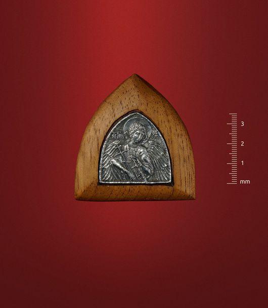 """Подвески ручной работы. Ярмарка Мастеров - ручная работа. Купить Икона """"Ангел Хранитель"""" в киоте. Handmade. День ангела, икона"""