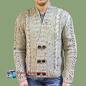Мужская одежда handmade. Livemaster - original item Cardigan