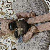 Куклы и игрушки ручной работы. Ярмарка Мастеров - ручная работа Мишка Тедди Длинноногий. Handmade.