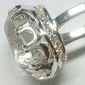 Украшения handmade. Livemaster - original item Crystal Ring. Handmade.