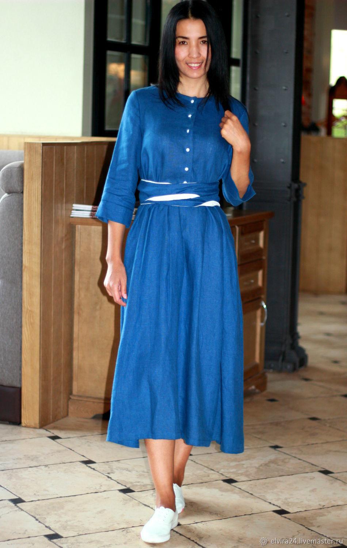 Dress linen dress boho, Dresses, Kaliningrad,  Фото №1