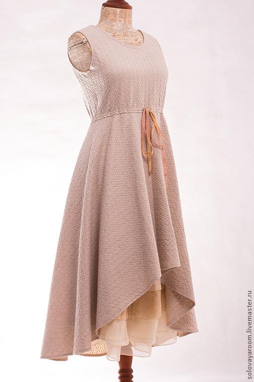 Платья полусолнце с завышенной талией сшить