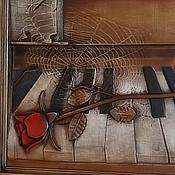 Картины и панно ручной работы. Ярмарка Мастеров - ручная работа Резное дерево_Забытая музыка. Handmade.