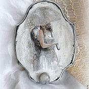 """Картины и панно ручной работы. Ярмарка Мастеров - ручная работа Панно вешалка """"Влюбленный дождь 2 """" дерево. Handmade."""