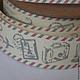 Хлопковая лента Путешествия, 20мм х 5м. 160 рублей