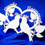 Свадебный салон ручной работы. Ярмарка Мастеров - ручная работа Голуби любви. Handmade.