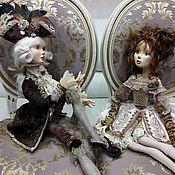 Куклы и пупсы ручной работы. Ярмарка Мастеров - ручная работа Будуарные куклы Беатрис и Данте, авторские куклы. Handmade.