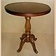 Круглый стол круглый из массива сосны на заказ по вашим размерам. Цвет и декор могут быть любыми. Возможно изготовления заготовки стола (без покраски). Высота 55 см х d 50 см  Студия мебели `Lovene`