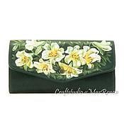 Сумки и аксессуары handmade. Livemaster - original item Wallet cardholders leather