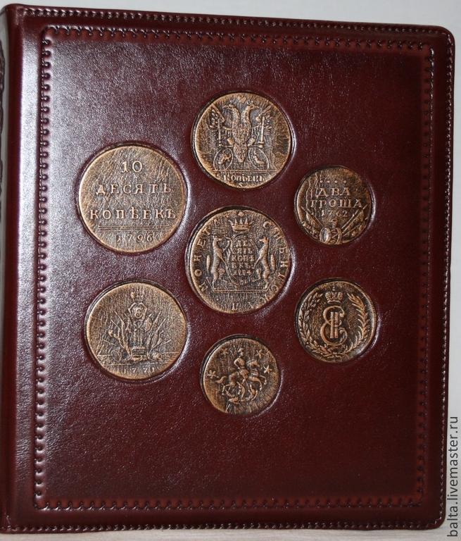 Заказ альбомов для монет 1 рубль 1780 года